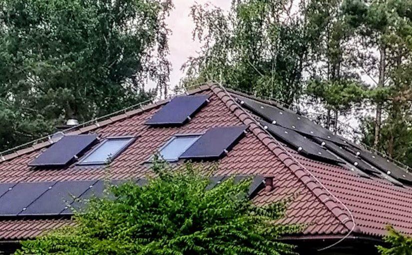 ile miejsca na dachu na panele fotowoltaiczne