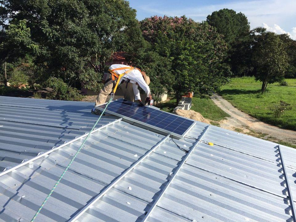 samodzielny montaż panelu słonecznych