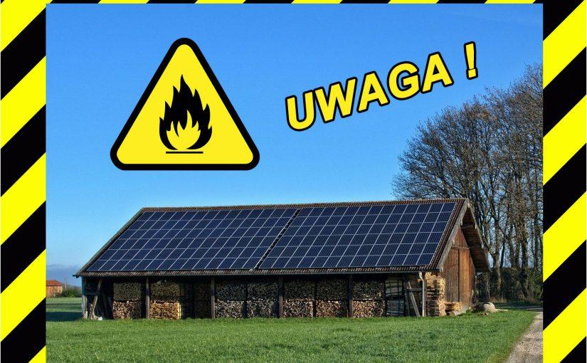 Czy panele słoneczne mogą być niebezpieczne?
