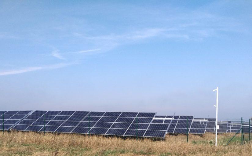 sprawność paneli modułów słonecznych